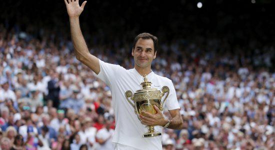 Suíço superou fase ruim na carreira e voltou a se consagrar como maior campeão de Wimbledon