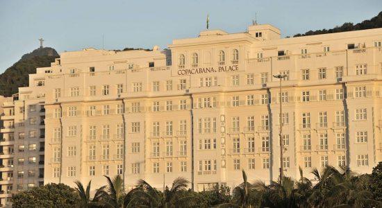 O hotel Copacabana Palace