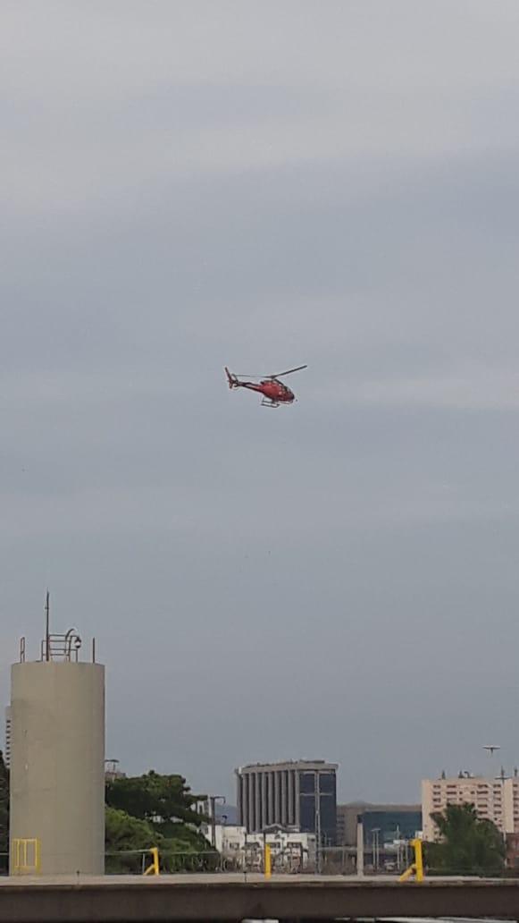 Maquinista foi resgatado após mais de sete horas