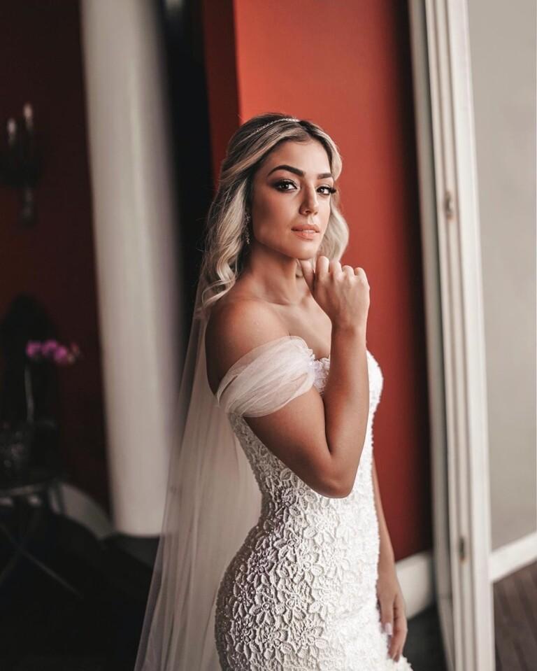 O vestido dos sonhos de Thainá Fernandes, noiva de Mumuzinho