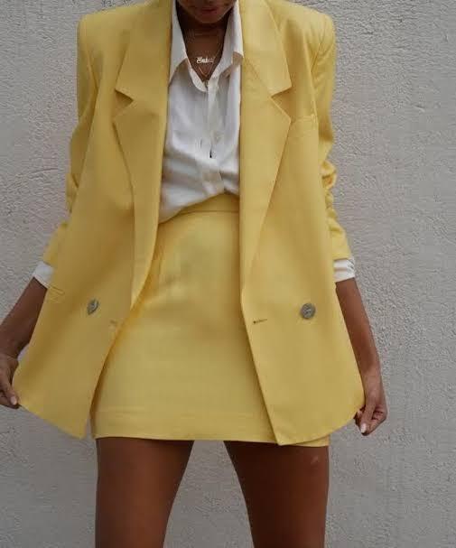 Mellow yellow, um tom de amarelo mais queimado