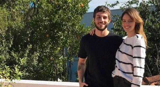 Chay Suede e Laura Neiva se casaram em fevereiro