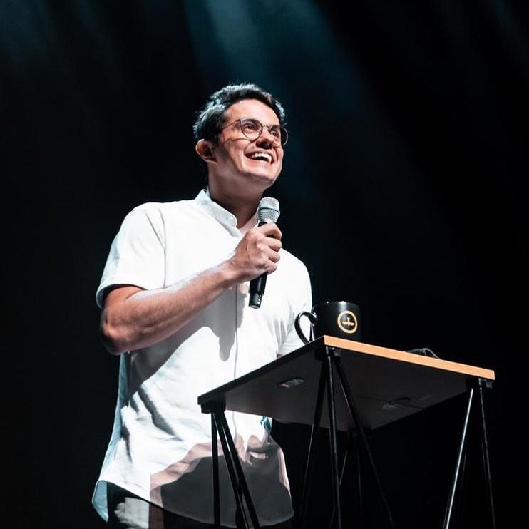 Deive Leonardo, pastor da Assembleia de Deus em Joinville