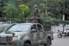 Força Nacional chega ao Ceará