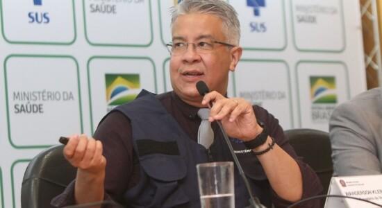 Secretário de Vigilância em Saúde do Ministério da Saúde, Wanderson de Oliveira