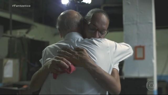 Suzi ganhou abraço de Drauzio Varella