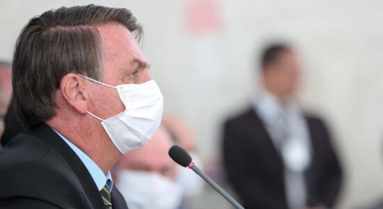 Presidente Jair Bolsonaro anunciou medidas contra o coronavírus