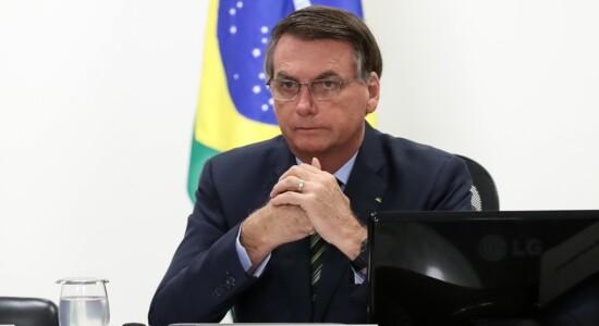 Presidente Jair Bolsonaro conversou com governadores do Sudeste