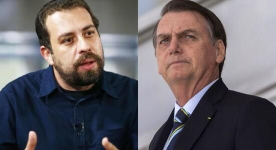 Guilherme Boulos Jair Bolsonaro
