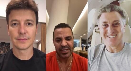 Eduardo Costa diz que Huck e Faro são hipócritas por ação contra coronavírus