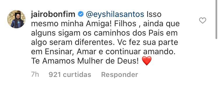 Amigos se solidarizam após desabafo da cantora Eyshila Santos